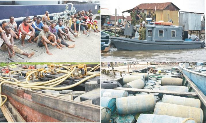 Navy arrest 24 bunkerers
